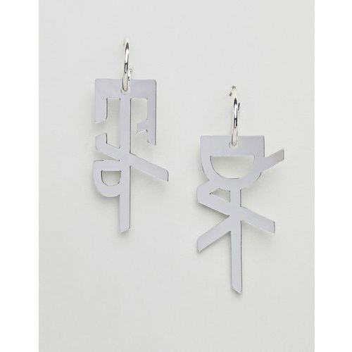 Cheap Monday Large Hacker Earring - Silver, kolor szary