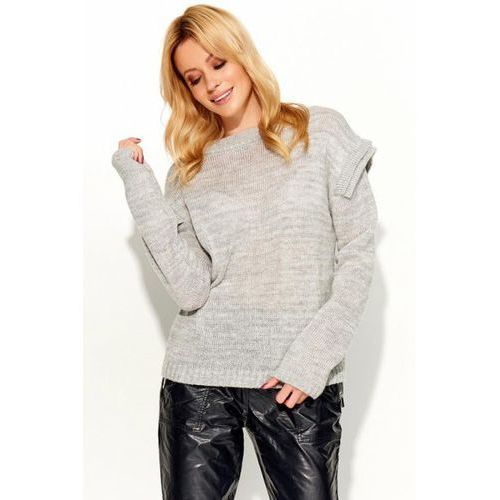 Sweter Damski Model S50 Light Grey