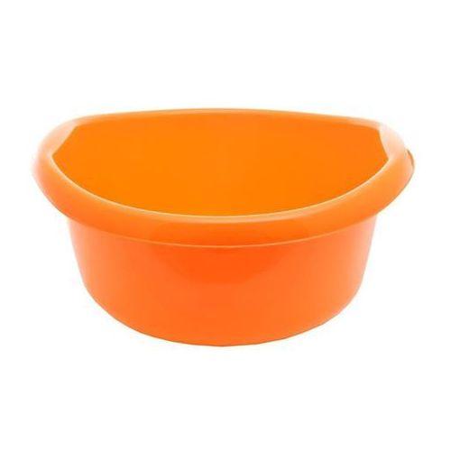 Pucuś Miska z uchwytem lamela pomarańczowa 8 l - pomarańczowy \ 8l