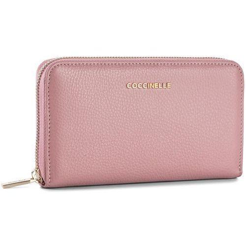 Duży portfel damski - bw5 metallic soft e2 bw5 11 32 01 milkshake 093 marki Coccinelle