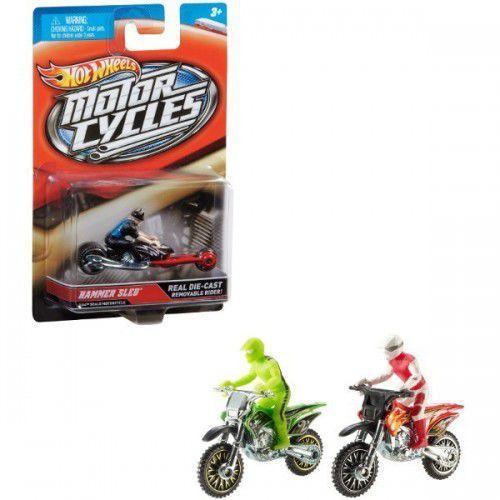 Hot Wheels HOT WHEELS Motocykl + mo tocyklista