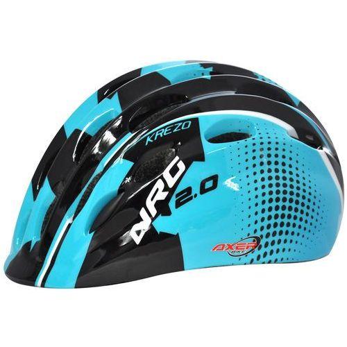Kask rowerowy AXER SPORT Krezo Ocean (rozmiar S) (5901780919245)