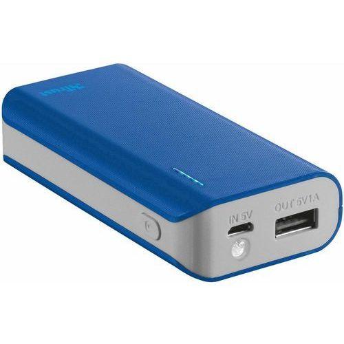Trust UrbanRevolt Primo PowerBank 4400 Portable Charger - blue (8713439212259)