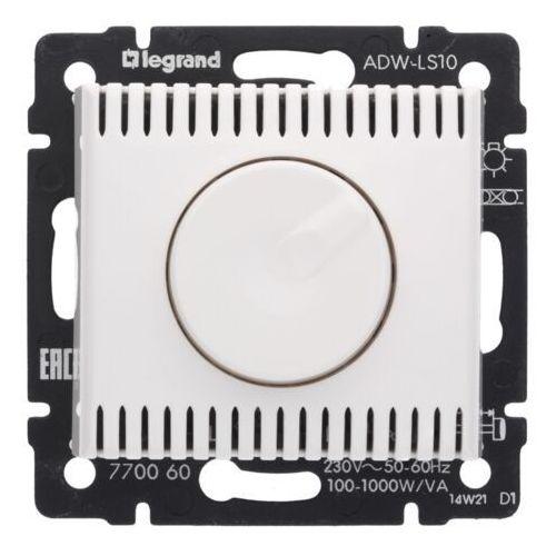 Ściemniacz obrotowy Legrand Valena 770060 100-1000VA 230V biały
