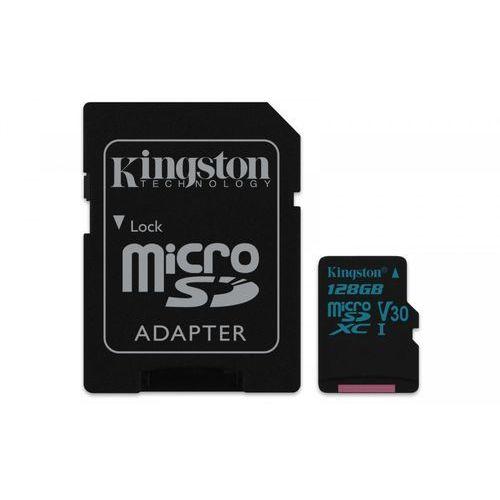 Kingston microSD 128GB Canvas Go 90/45MB/s + adapter