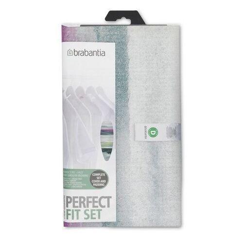 Brabantia - pokrowiec na deskę do prasowania 135 x 45cm - pianka 4mm + filc 4mm - wielokolorowy (8710755119101)