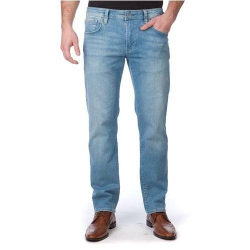 jeansy męskie bradley 31/34 niebieski marki Pepe jeans