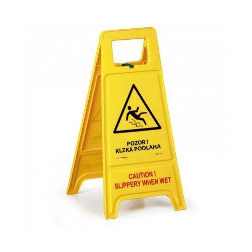 Stojak ostrzegawczy - Uwaga! Śliska podłoga SK