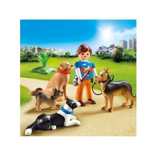 Playmobil CITY LIFE Treser psów 9279