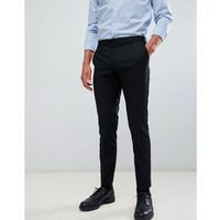 skinny fit smart trousers in black - black marki Burton menswear