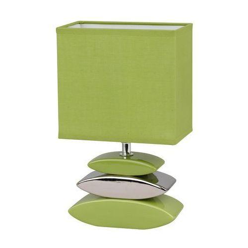 Honsel LINER lampa stołowa Srebrny, Zielony, 1-punktowy - Nowoczesny - Obszar wewnętrzny - LINER - Czas dostawy: od 2-4 dni roboczych, 53591