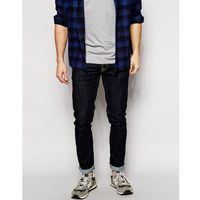Nudie jeans tight long john skinny jeans twill rinsed wash - blue