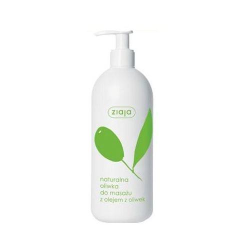 Naturalna oliwka do masażu z olejem z oliwek Ziaja