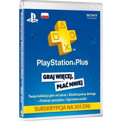 Sony  subskrypcja playstation plus (12 m-ce karta zdrapka) - produkt w magazynie - szybka wysyłka!
