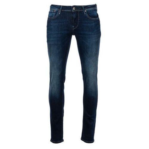 jeansy męskie hatch 32/32, ciemny niebieski marki Pepe jeans