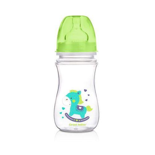 Butelka antykolkowa CANPOL BABIES EasyStart Toys 240 ml 35/220