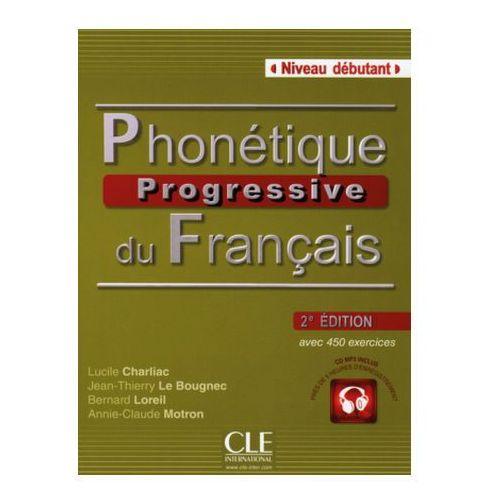 Phonétique progressive du Français, Niveau débutant, 2e édition m. MP3-CD