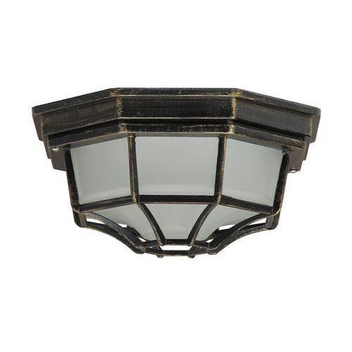 Rabalux - Oświetlenie zewnętrzne 1xE27/100W/230V, kolor Złoty