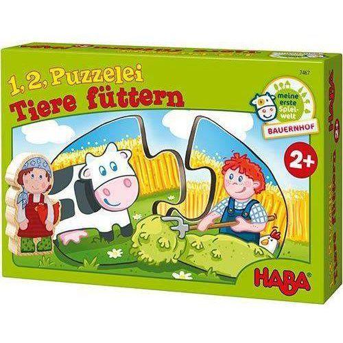 Puzzle 1,2 - Co jedzą zwierzęta?, HB7467 (4578105)