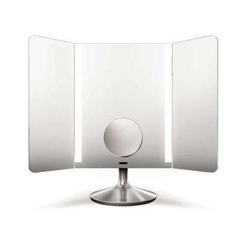 Simplehuman Lusterko szerokokątne sensorowe podświetlane wide view pro 1x | 10x