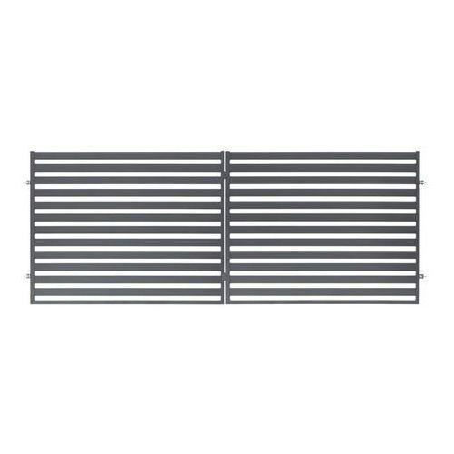 Brama dwuskrzydłowa lara 400 x 154 cm marki Polbram steel group