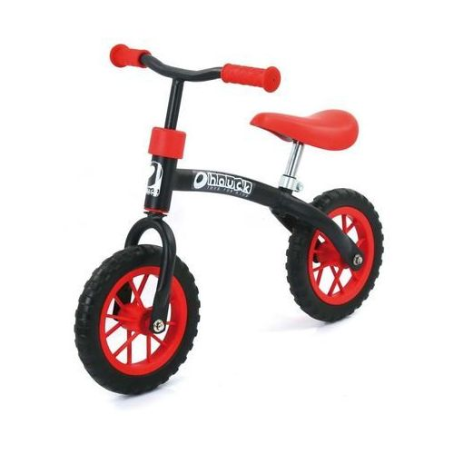 Rowerek biegowy E-Z Rider 10, black red