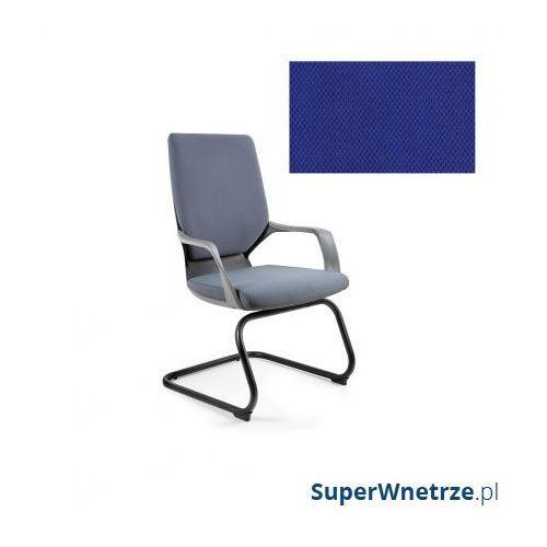 Krzesło biurowe apollo skid royalblue marki Unique