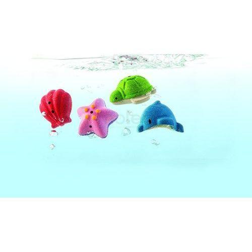 Plan toys Zabawki do kąpieli zwierzątka morskie - (8854740056580)