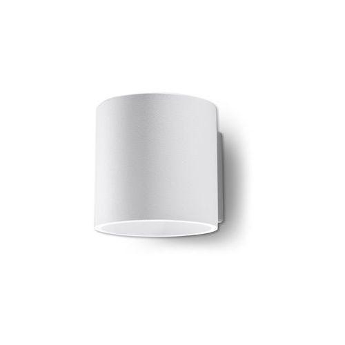 Sollux Kinkiet orbis 1 biały (5902622425054)