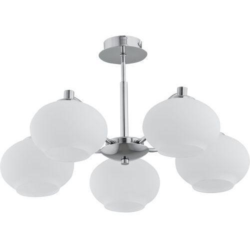 Lampa wisząca Alfa Aruba 10075 oprawa zwis żyrando zwis 5x40W E14 chrom, biały (5900458100756)