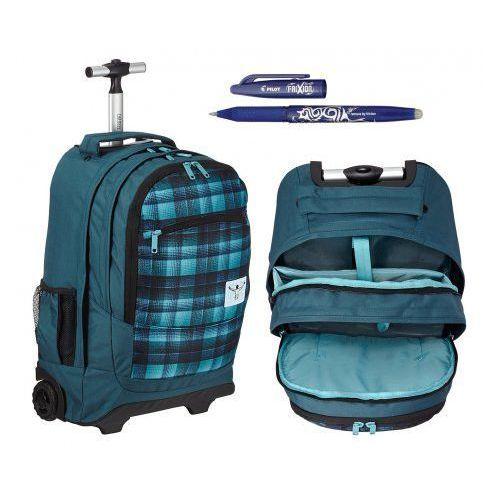 CHIEMSEE AW16 plecak na kółkach WHEELY: O0024 CHECKY CHAN BL + gratis DŁUGOPIS FRIXION