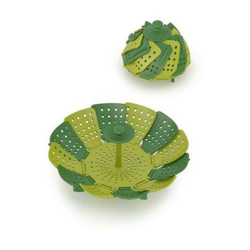 Koszyk do gotowania na parze JJ Lotus zielony