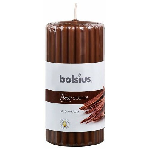 Świeca pieńkowa zapachowa TRUE SCENTS drzewo agarowe BOLSIUS