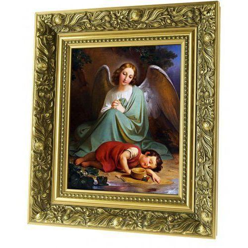 Obraz ceramiczny anioł stróż z dzieckiem marki Produkt polski