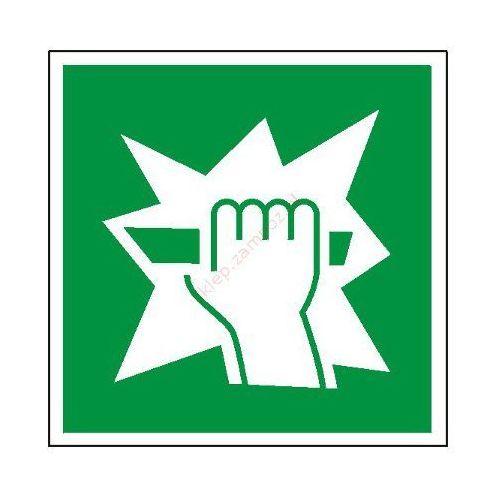 Znak stłuc aby uzyskać dostęp pf marki Techem