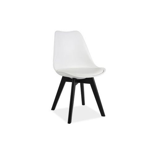 Signal meble Krzesło kris ii biały czarny