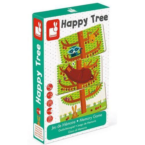 Janod Gra pamięciowa - szczęśliwe drzewo j02761