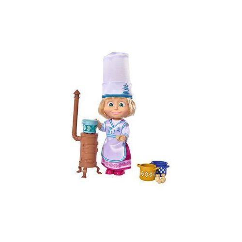 Lalka Masza kucharka i Niedźwiedź