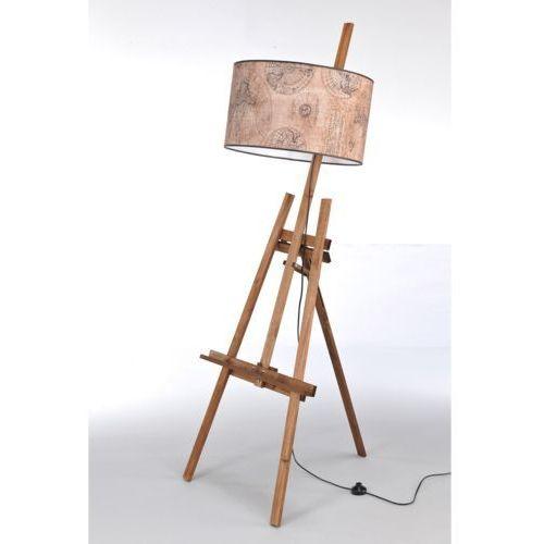 Lampa stojąca sztaluga dark wood nr 2458 marki Namat