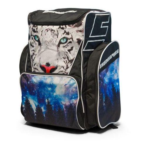 Energiapura Torby i plecaki do sprzętu narciarskiego racer bag - fashion tiger czarny 80 l