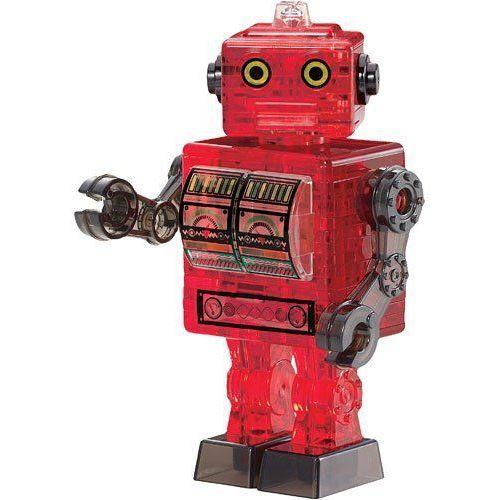 Crystal Puzzle Robot czerwony BARD