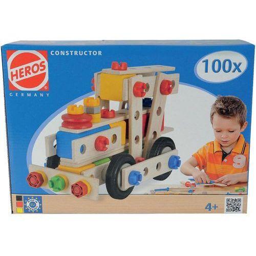 Heros Zestaw konstrukcyjny składający się ze 100 części  ilość modeli 6 klasa wiekowa od 4 lat (4051902390276)