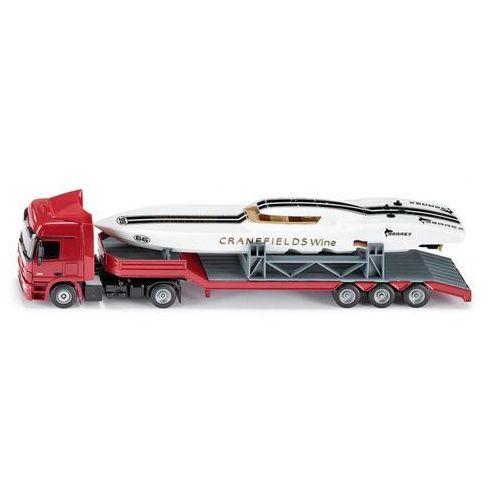 Model SIKU Ciężarówka Mercedes Actros Z Łodzią Wyścigową + DARMOWY TRANSPORT!, towar z kategorii: Ciężarówki