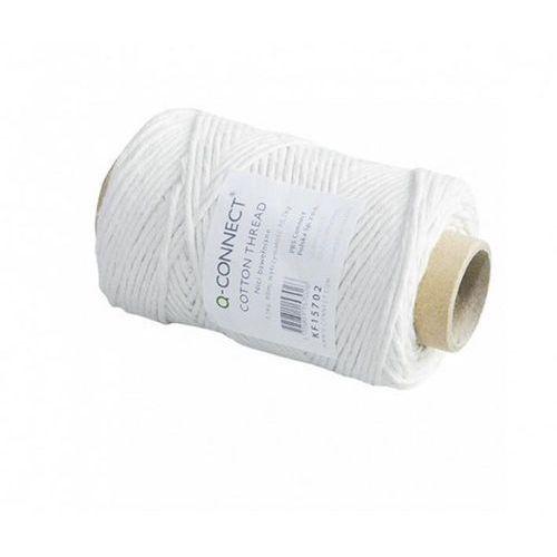 Sznurek Q-CONNECT biały 100g. 80m błysk KF15702