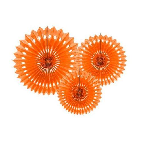 Ap Rozetki wiszące pomarańczowe - 3 szt.