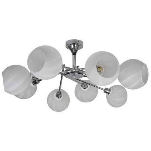 Candellux raul 38-72290 plafon lampa sufitowa 8x40w e14 chrom (5906714872290)