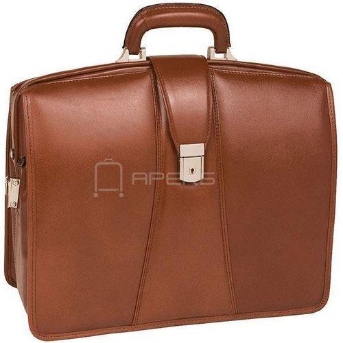 """Mcklein harrison teczka / torba ze skóry na laptopa 17"""" / brązowy - brązowy (6421548338464)"""