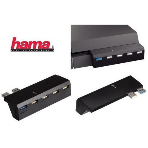 Akcesorium HAMA USB Hub do PS4 (4047443207593)