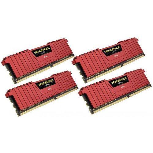 Corsair 16GB 2400MHz Vengeance LPX Red CL14 (4x4096)