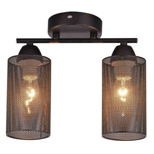 Candellux indira 32-58638 lampa sufitowa 2x40w e14 czarny